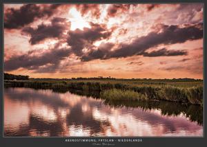 Bootstour über Kanäle und Seen in Friesland