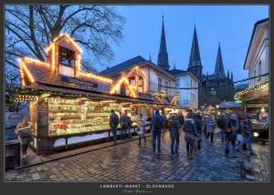 Lamberti-Markt - Lambertikirche, Oldenburg